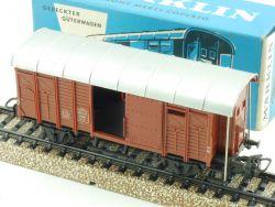 Märklin 4605 Gedeckter Güterwagen SBB Schweiz H0 AC 70er OVP