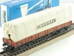 Märklin 4517 Planewagen Planwagen Güterwagen 1973 seltene OVP