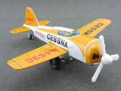 K Japan Cessna Blechflugzeug tin litho airplane rare 60er