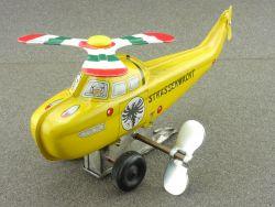 Toy Hero Japan Hubschrauber ADAC Helicopter tin litho selten