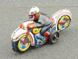 Toys Nomura Japan Military Police MP mbike Motorrad pennytoy
