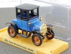 Adam Opel AG R.W. Ziss Stadtcoupe 1908 Oldtimer Werbemodell OVP