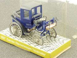 Cursor 1897 Mercedes MB Daimler Riemenwagen Taxameter 1:43   OVP