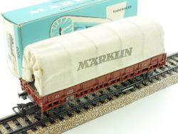 Märklin 4609 Planenwagen Rmms 33 DB 1965 blauer Karton TOP! OVP