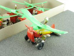 Schopper 546 Überschlag-Flugzeug Artist aus Händlerkarton 60er STG