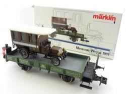 Märklin Museumswagen 1991 Post LKW Württemberg Schlusslicht OVP