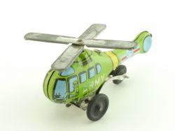 Japan Hubschrauber Helicopter US Army Blechspielzeug tin toy
