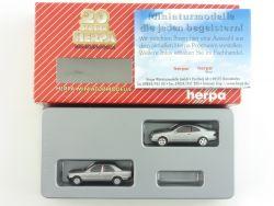 Herpa 187503 Set MB Clk Mercedes 190 E 20 Jahre TOP OVP