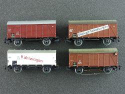 Schnäppchen! Märklin 4x Güterwagen Kühlwagen Stückgut H0 AC