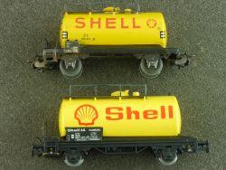 Schnäppchen! Märklin 2x Kesselwagen Güterwagen Shell H0 OVP