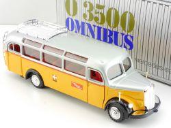 NZG 218 Mercedes O 3500 Postbus Omnibus Schweiz Post PTT OVP