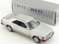 Conrad 1504 Mercedes 230 300 CE C 124 Coupe Werbemodell 1:35 OVP SG