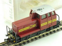 Fleischmann 7218 Diesellokomotive DB Werkslok Spur N  OVP