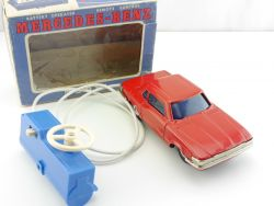 T.T. Mercedes MB 350 SL C 107 Japan Tin Toy Blechauto Funktion OK OVP