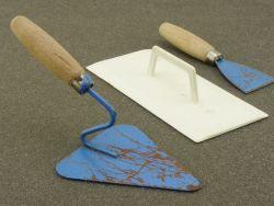 Maurer Werkzeug für Kinder Puppen original 50er/60er selten