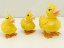 Entenfamilie Ente Duck Marionette für Zugschnur Hüpftier 70e