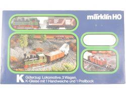 Märklin 2899 Güterzug-Set K-Gleise Dampflok 3087 H0 KLVM TOP OVP
