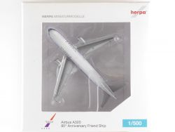 Herpa 518857 Airbus A320 United Airlines Friendship N475UA OVP