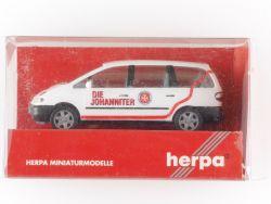 Herpa 043298 Ford Galaxy Die Johanniter Unfall Hilfe 1:87 OVP ST