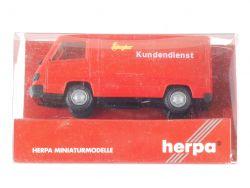 Herpa 185714 Mercedes MB 100 D KTW Ziegler Kundendienst  OVP ST