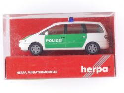 Herpa 042949 Ford Galaxy Polizei Modellauto Neu 1:87 OVP