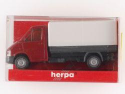 Herpa 043311 VW Lt 2 Pritsche/Plane Transporter Modellauto  OVP
