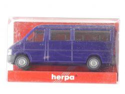 Herpa 043496 Volkswagen VW LT 2 Bus FD Modellauto Blau  OVP