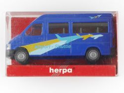 Herpa 043366 VW LT/96 Bus Hochdach Airport Shuttle Bus Model OVP