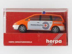 Herpa 044059  Ford Galaxy NEF DRK Mittelhessen Notarzt 112 OVP