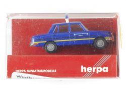 Herpa 044752 Wartburg 353 1966 THW Blaulicht Modellauto 1:87 OVP