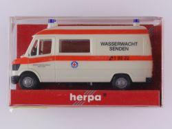 Herpa 042475 Mercedes MB 207 D Wasserwacht Senden 1:87 OVP