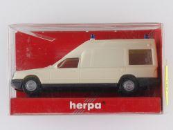 Herpa 041980 MB Mercedes Binz W124 Blaulicht 1:87 OVP