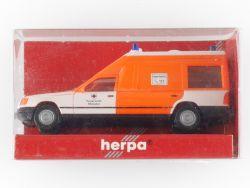 Herpa 042581 MB Mercedes Binz W124 Münster Feuerwehr 1:87 OVP