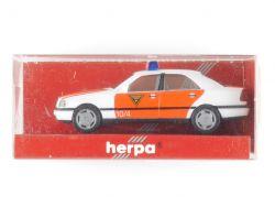 Herpa 043977 MB Mercedes C 200 Feuerwehr Würzburg W 202 NEU OVP ST
