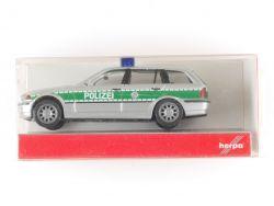 Herpa 046480 BMW 3er TM E91 Touring Polizei Bayern 1:87 NEU! OVP