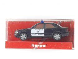 Herpa 186513 MB Mercedes C 220 Polizei Griechenland Greek MIB OVP