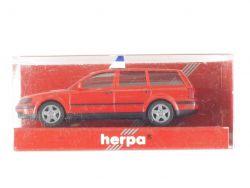 Herpa 043878 VW Passat B5 1997 Feuerwehr Modellauto 1:87 NEU OVP