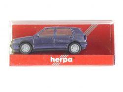 Herpa 031165 VW Golf III VR 6 4-türig Modellauto 1:87 NEU! OVP