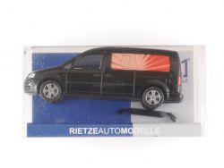 Rietze 31535 VW Caddy Maxi Bestatter Leichenwagen NEU OVP