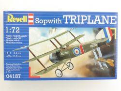 Revell 04187 Sopwith Triplane Jagdflugzeug Bausatz US 1:72 OVP