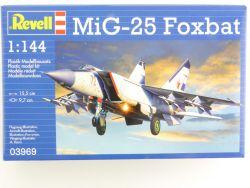 Revell 03969 MiG-25 Foxbat Düsenflugzeug Abfangjäger Bausatz OVP