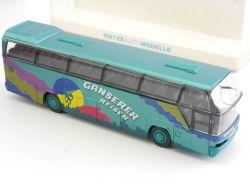 Spielzeugautos Rietze 62025 Neoplan Starliner World Wide Reisen Dachau Bus OVP SG 1606-25-38