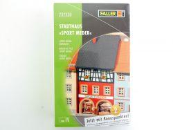 Faller 232330 Altstadthaus mit Bar Modellbahn NEU in Folie  OVP