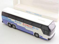 Rietze 61105 Neoplan Cityliner Baltic Expressbuss PTTK Katowice OVP