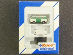 Roco 1384 Polizei Set VW T3 Einsatzfahrzeug mit Anhänger TOP OVP