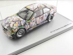 Minichamps Art Car BMW M3 GTR Sandro Chia 1:18 selten! TOP!