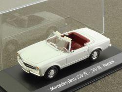 Minichamps MB Mercedes 230 SL 280 SL Pagode W 113 1:43 tlw. OVP