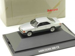 Herpa 30064 Mercedes MB 300 CE Pr. Collection Vitrine W 124 OVP