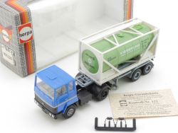 Herpa 805220 Ford Kieserling Tank-Container-SZ 1:87 LKW TOP OVP