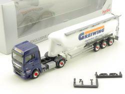 Herpa MAN TGX 18.440 Greiwing Logistic Euro 5 TOP! OVP